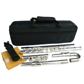 Flauta Transversal Prateada Hawk Comprada Nos Eua