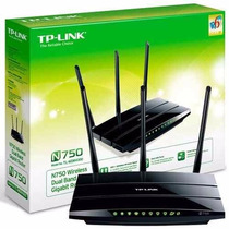 Roteador Wireless Tp-link Tl-wdr4300- N750 Dualband Original