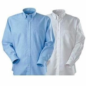 Camisas Oxford Celestes , Blancas