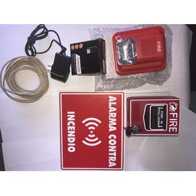 Kit Alarma Contra Incendio Completa ( Promoción!!) Nuevos
