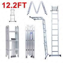 Escalera Portátil Plegable Multiforme 12 Pies Importada