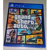 Gta V Grand Theft Auto V Ps4 Español Nuevo Sellado +garantia