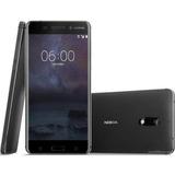 Nokia 6 De 32 Gb Black Con Android Ta1025