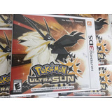 Pokemon Ultra Sun Sol 3ds Nuevo Sellado Físico Nintendo