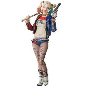 Medicom Pelotón Del Suicidio Figura Harley Quinn Maf Ex Acc