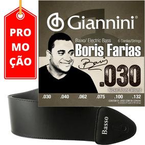 Cordas 030 132 Baixo 6c Giannini Ssbnbf6 Boris F. + Correia