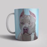 Caneca Pet Personalizada Raça Cachorro Cães Pit Bull Pitbull