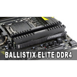 Memoria Crucial Elite Ddr4 8gb 3200 Mfshop Envio Gtis