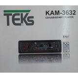 Radio Auto Teks Kam-3632 Cd/usb/sd/mp3/desmontable