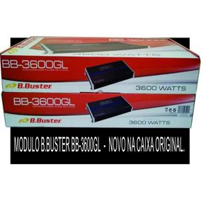 Modulo Amplificador B.buster 3600 Gl Ss1/3600gl 1200rms Novo