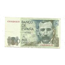 Espanha: Bela Cédula De 1000 Pesetas De 1979 - Mbc/s