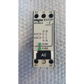 Relay Relevador De Seguridad Estop-2 Power Industrial
