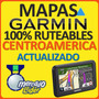 Mapa Centroamerica Panama Costa Rica Para Gps Garmin