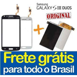 Tela Touch Display Lcd Galaxy S3 Duos Gt I8262b I8262 Td0025