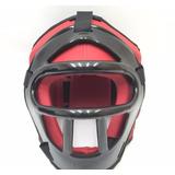 Protetor Cabeça/capacete C/ Grade Boxe Muay Thai Karatê