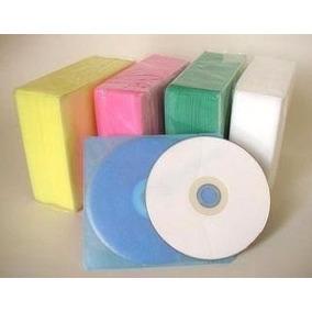 100 Estuche Bolsa Funda Plastica Tipo A Cd-r Dvd-r