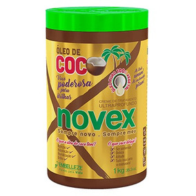 Creme De Tratamento Òleo De Coco 1kg Novex Embelleze