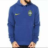 Blusa Moletom Brasil Seleção Brasileira Futebol Unverno Copa eeb7f6a21a3f2