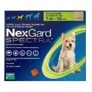Nexgard Spectra M De 7.6kg A 15kg 3 Pastillas Masticables
