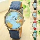 Reloj De Pulsera Global De Viajes Por Avión