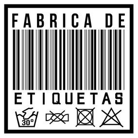 100 Etiquetas Personalizadas Nylon