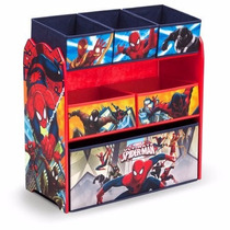 Juguetero Organizador Marvel Spider-man Envio Gratis