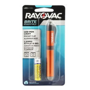 Linterna Rayovac Tipo Lapicera Usa Pila Aaa Led Aluminio
