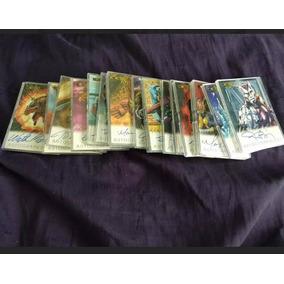 Tarjetas De Marvel/dc 50 All Random Cards