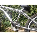 Bicicleta Bike Cross Cromada. Guidão Bmx Pneus Novos