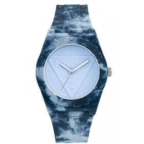 Reloj Retro Pop Casual Azul Guess