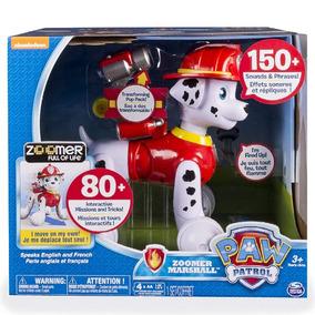 Perro Robot Zoomer Marshall Paw Patrol Interactivo Original