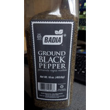 Pimienta Negra Molida Badia Importada 453 Gramos