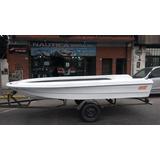 Lancha Bote M Y E 430 Pescador Ngp