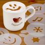 Plantillas Con Diseno Para Cafe Latte 16 Moldes!!