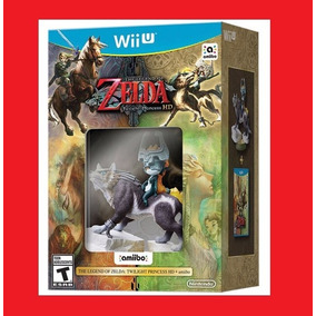 The Legend Of Zelda Twilight Princess Hd Bundle Amiibo Wii U