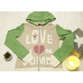 Buzo Canguro Estampado Love Summer Kosiuko Original