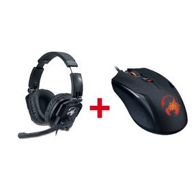 Combo Gamer Gx Mouse Ammox X1 400 + Auricular Lychas