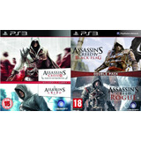 Assassins Creed Ps3 Collection | Digital Español 4 En 1