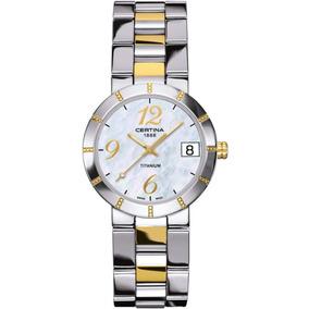 f0603827edf Relógio Certina Feminino - Relógios De Pulso no Mercado Livre Brasil