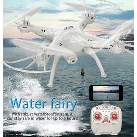 Drone Lidirc L15fw Quadcopter Rc Impermeável Com Câmera Hd