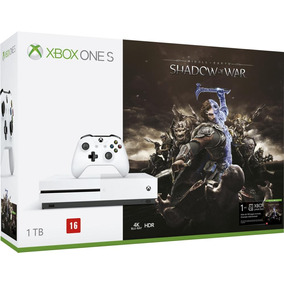 Console Xbox One S - Shadow Of War - 1tb