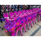 Bicicleta Barbie Rin 12 Niñas De 2 A 6 Años
