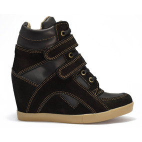 Zapatillas Taco Escondido Sneaker Ciro Art 620 Cuero Y Cuero