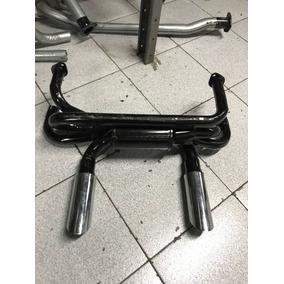 Escapamento Esporti 4x2 Com Ponteira Vw Fusca 1300/1500/1600