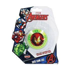Ioiô C/ Luz Avengers - Iron Man - Toyng