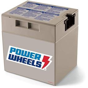 Bateria Gris Power Wheels / Pila Fisher Price / 12 Volts