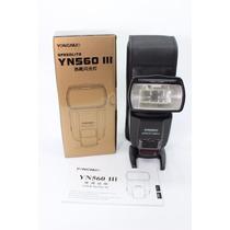 Flash Yongnuo Yn560 Iii Universal - Canon/nikon - Temos Loja
