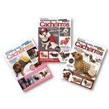Kit - 3 Revistas Moda Pet Tecido - Roupa Cães Cachorro