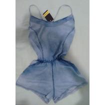 Kit C/10 Macaquinhos Jeans Revenda Roupas Femininas