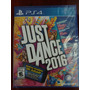 Just Dance 2016 Ps4 Nuevo Sellado Original Disco Fisico